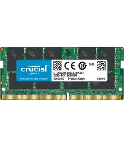 Mémoire 16GB Crucial SO-DDR4 2400MHz 1.2V