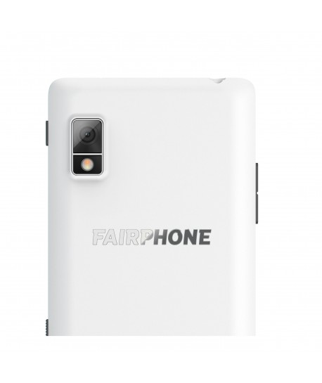 Coque slim blanc Fairphone 2