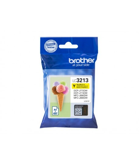 Brother Patrone LC-3213Y, giallo