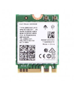 Intel Wireless AC-8265 Wi-Fi & Bluetooth M.2