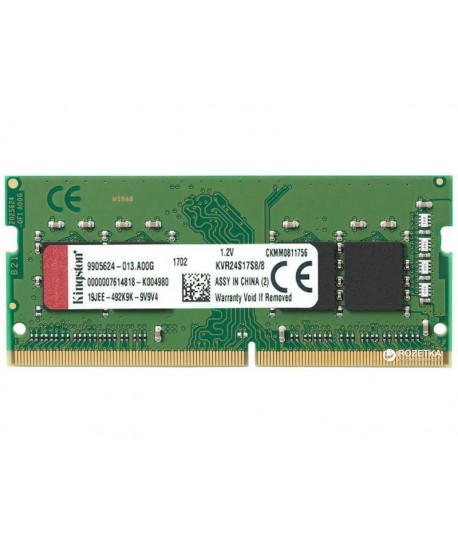 Mémoire 8 GB Kingston ValueRAM SO-DIMM DDR4 2400 MHz