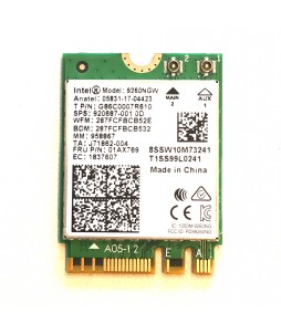 Intel Wireless AC-9260 Wi-Fi & Bluetooth M.2