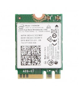 Intel® Dual Band Wireless-AC 3165