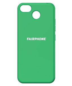 Coque verte Fairphone 3
