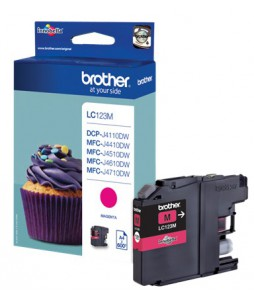 Brother Patrone LC-123M, Magenta