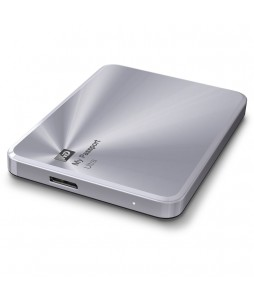 "Externe Festplatte WD My Passport Ultra Metal Edition 2.5"" USB3.0 1TB Silver"