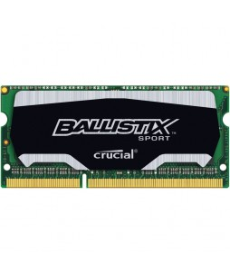 Crucial Ballistix Sport 8GB SO-DDR3L 1866 MHz 204-Pin Memory