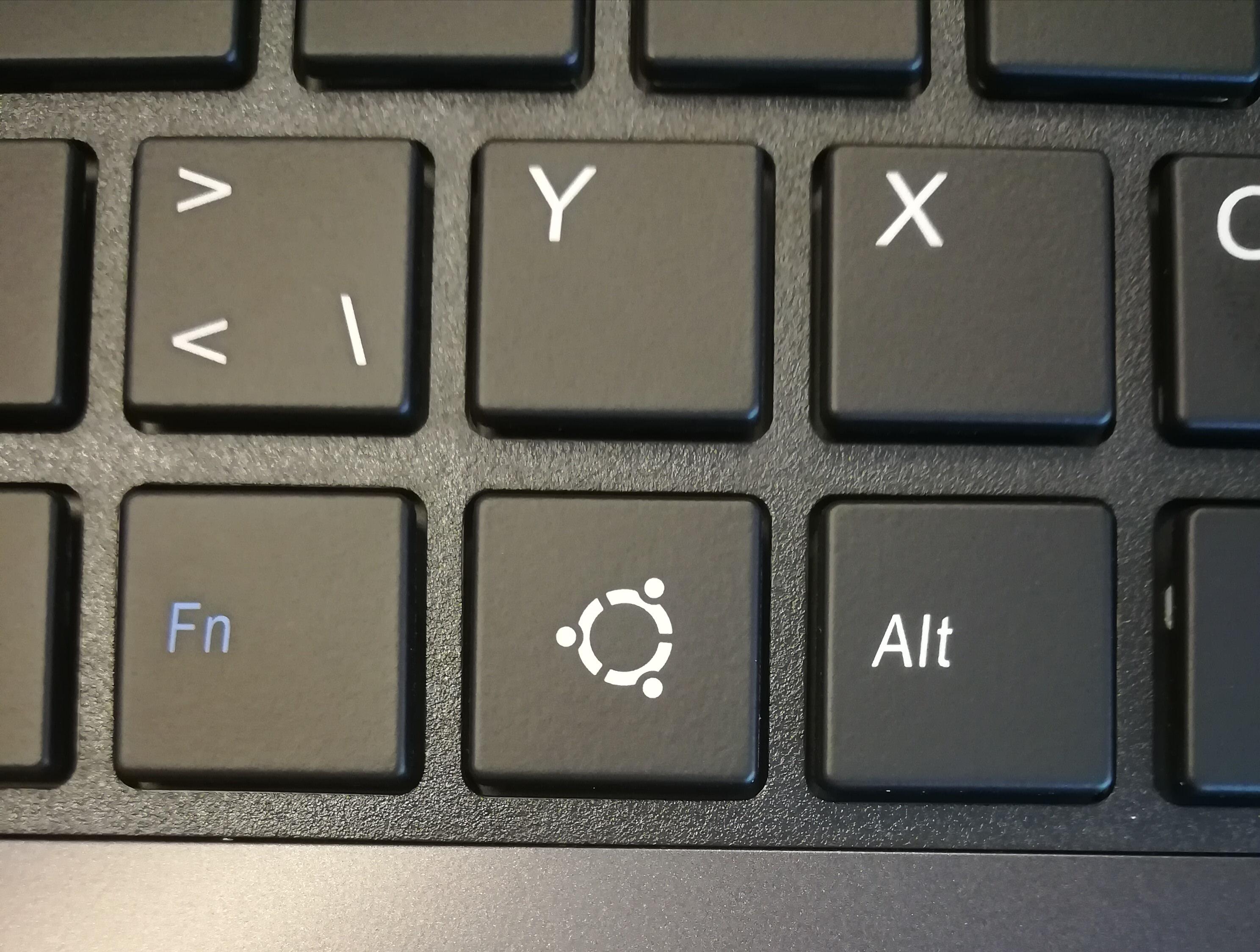 Touche Ubuntu